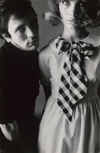 Artwork By David Bailey Jean Shrimpton And Terence Stamp Made Of Gelatin Silver Print