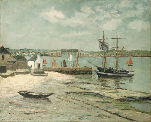 Artwork by Maxime Maufra, Les huiterières, la trinité, Morbihan