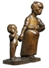 Christoph Voll, Arbeiterfrau mit Kind