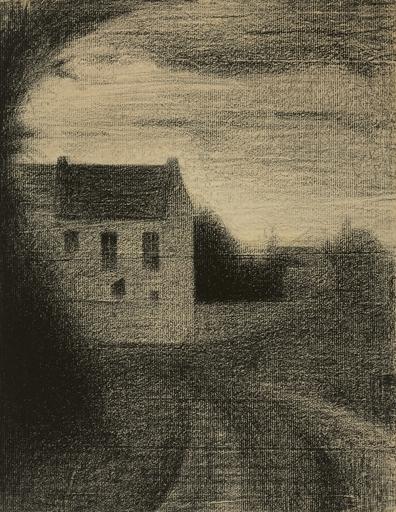 Artwork by Georges Seurat, Maison carrée