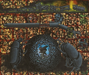 Dung Beetles II: Camaouflage Leads us into Deconstruction By David Wojnarowicz
