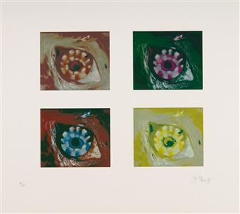 Nemisee / Auge der Diana / Variographien By Georg Muche ,1964 -  1965