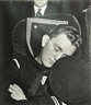 Esther Bubley, Sailor Asleep on Train