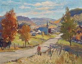 Francesco Iacurto, Autumn in Canada