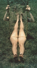Artwork by Joan Jonas, Barbara Mirror Piece I, 1969