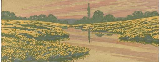 Carlos schwabe swiss 1866 1927 mutualart for Au jardin de l infante
