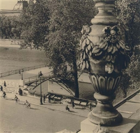 Artwork by Pierre Jahan, Pont des Arts, Paris, Made of gelatin silver print