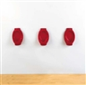 Rachel Lachowicz, Untitled (lipstick urinals)