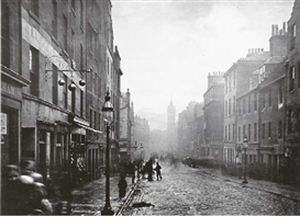 Artwork by Thomas Annan, High Street, from College Open, from Old Closes and Streets of Glasgow