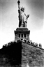 Neal Slavin, Untitled (Statue of Liberty)