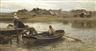 Hamilton Macallum, Walberswick Ferry (1875)