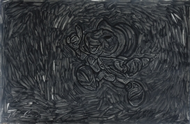 Pierre Bismuth, Black Painting. Jiminy Cricket