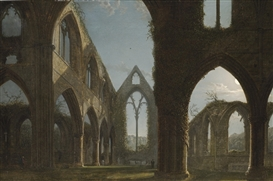 Artwork by Carl Gustav Carus, Tintern Abbey