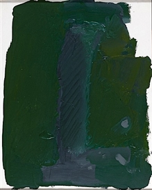 Artwork by Gérard Gasiorowski, SANS TITRE, Made of Acrylic on paper