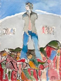 Uten tittel By Jens Johannessen ,1976