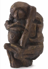 Artwork by Jørgen Haugen Sørensen, Figure, Made of Bronze sculpture