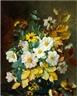Henriette Augusta Johanne Dohlmann, Autumn flowers in a vase