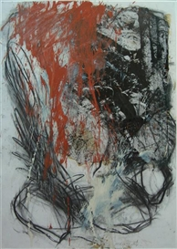 Artwork by Ian McKeever, UNTITLED, Made of mixed media on paper