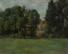 Werner Paul Schmidt, Haus hinter Bäumen