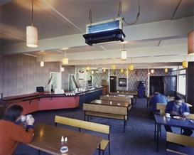 Artwork by Paul Graham, A-1, The Great North Road; Interior, Rainton Services, North Yorkshire, Made of Ektacolor print