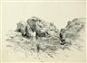 John Henry Hill, Rocky Landscape