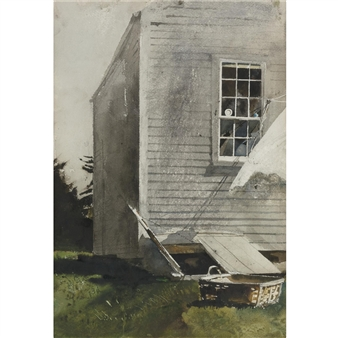 Wash Basket By Andrew Wyeth ,1968