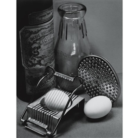 Artwork by Ansel Adams, STILL LIFE WITH EGG SLICER, SAN FRANCISCO