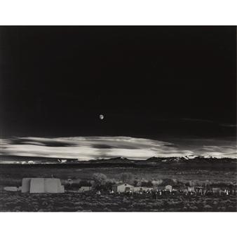 Ansel Adams - 'moonrise, hernandez, new mexico' Ansel Adams Clearing Winter Storm Analysis