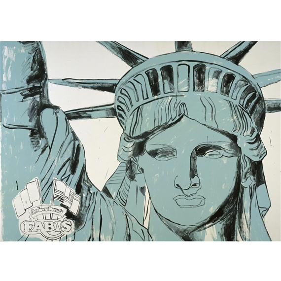 andy warhol statue of liberty
