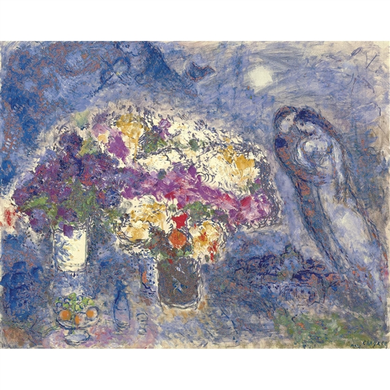 Chagall marc le peintre et son village lyosno circa for Chagall peintre