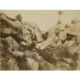 Artwork by Eugène Cuvelier, Sables de Macherin, early 1860s