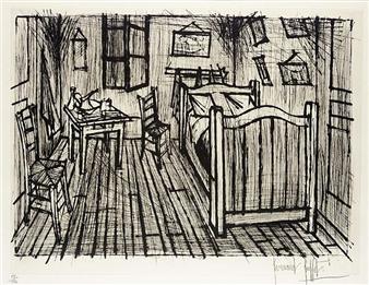 Bernard buffet la chambre de van gogh - La chambre de van gogh ...