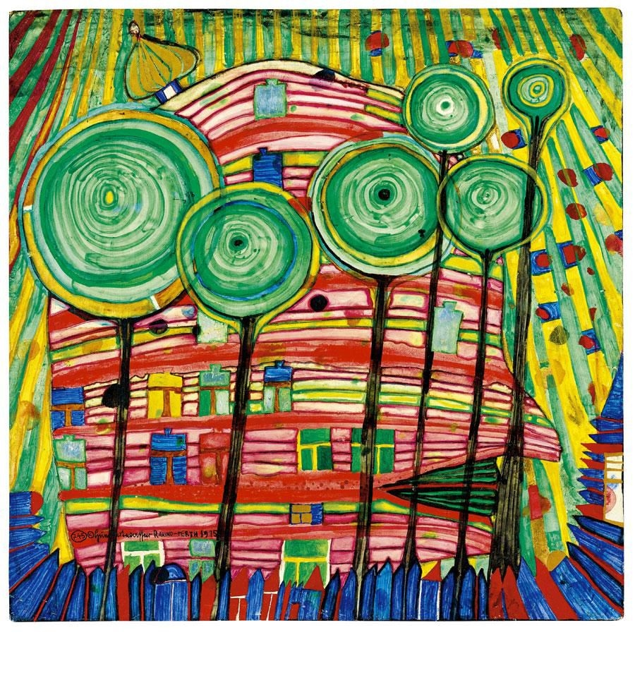 Hundertwasser Most Famous Paintings Names