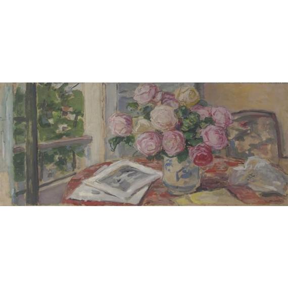 Albert andr bouquet de roses pour un projet de for Un bouquet de roses