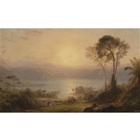 Frederic Edwin Church, Tropical Landscape