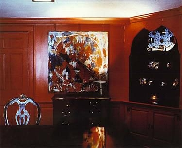 Louise Lawler Living Room Corner Arranged by Mr. and Mrs. Burton ...