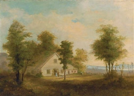 Artwork by Robert S. Duncanson, SUMMER
