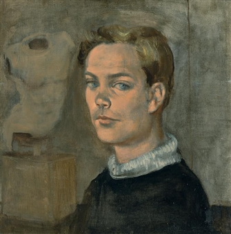 PORTRAIT OF A YOUNG MAN By Walter Stuempfig