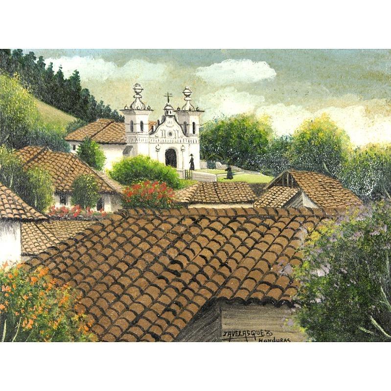 Jose Antonio Velasquez - HONDURAS, oil on canvas;... |Jose Antonio Velasquez Paintings