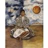 Frida Kahlo, NIÑA TEHUACANA, LUCHA MARÍA (SOL Y LUNA)