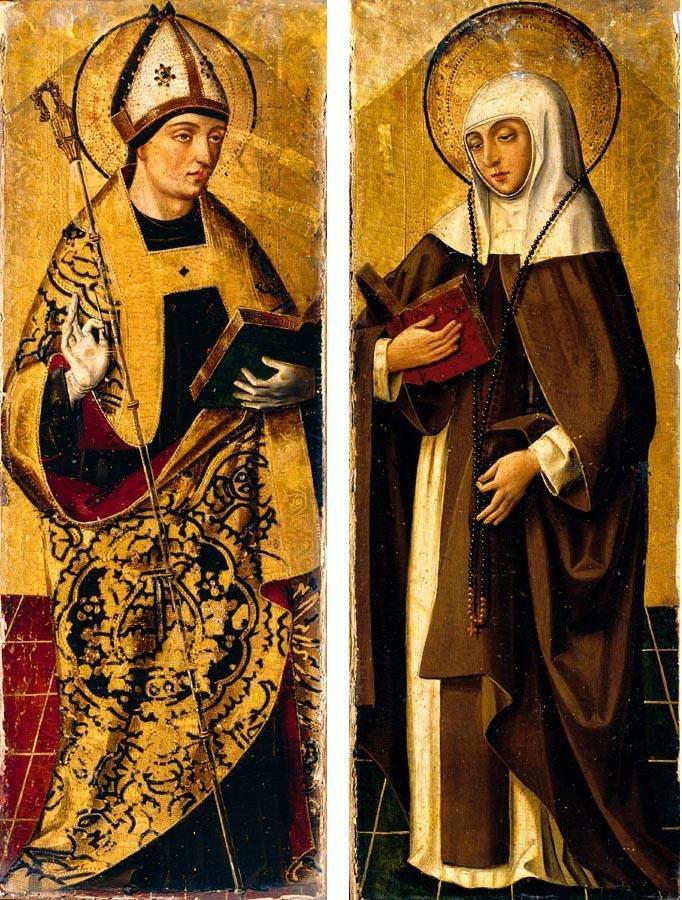 Resultado de imagem para saint augustine saint monica