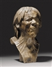 "Franz Xaver Messerschmidt, AN IMPORTANT ALABASTER BUST OF THE SO-CALLED ""RESCUED FROM DROWNING"