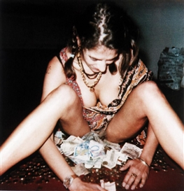 Tracey Emin, MONEY PHOTO (SPIDER LEGS)