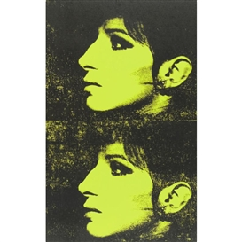 Artwork by Deborah Kass, 2 YELLOW BARBRAS (JEWISH JACKIE SERIES), Made of acrylic on canvas; acrylic on canvas, unframed