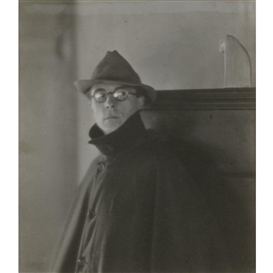 Artwork by Margrethe Mather, PORTRAIT OF EDWARD WESTON