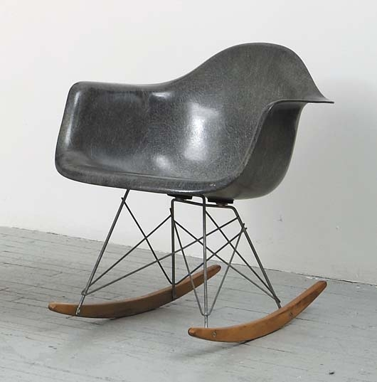 charles ray eames rar rocking chair 1950 1953 mutualart. Black Bedroom Furniture Sets. Home Design Ideas