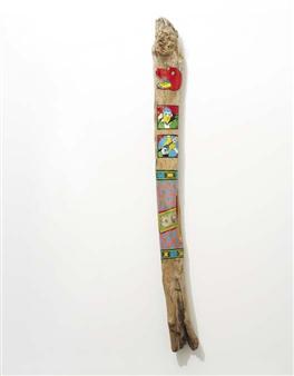 Dollar Totem By David Wojnarowicz ,1984