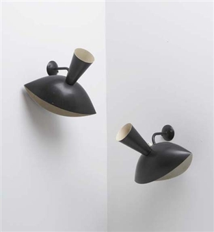 Serge mouille pair of cachan wall sconces - Serge cachan astotel ...