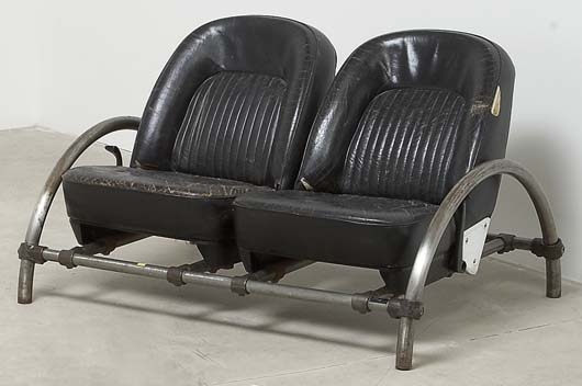 Artwork By Ron Arad, U0027Roveru0027 Two Seater Sofa, Made Of Painted