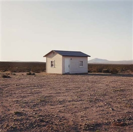 Artwork by John Divola, N34° 14.246' W116° 09.877' from Isolated Houses, Made of Color coupler print.
